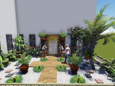 Residence at Mangkunegaran Solo