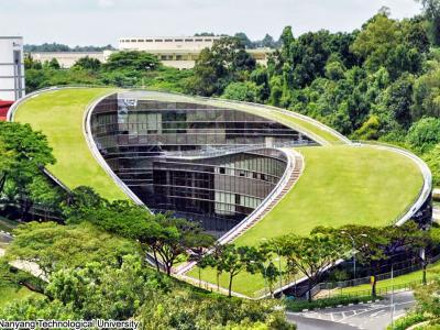 11 Bangunan Hijau dengan Desain Roof Garden